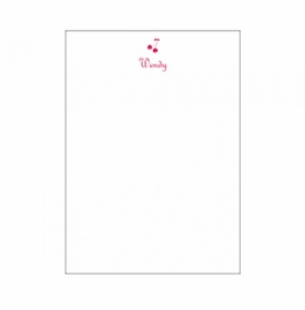 vertical cherries social stationery