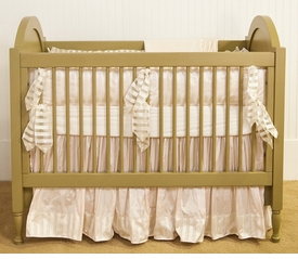 victoria crib linens (custom colors available)