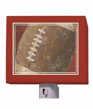 vintage football nightlight