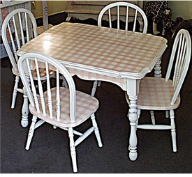vintage table set