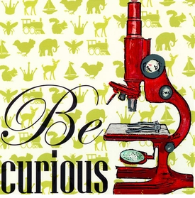 wall art - be curious