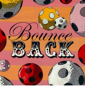 wall art - bounce back
