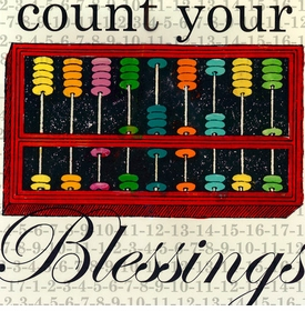 wall art - count your blessings