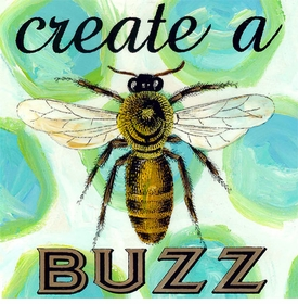 wall art - create a buzz