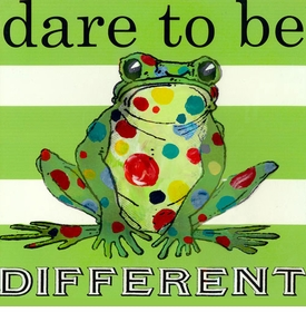wall art - dare to be different