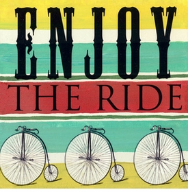 wall art - enjoy the ride