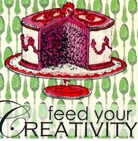 wall art - feed your creativity