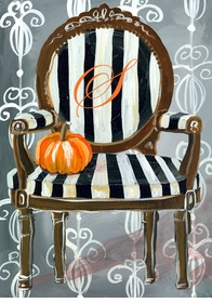 wall art - haunted parlor - chair -