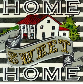 wall art - home sweet home