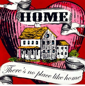 wall art - no place like home