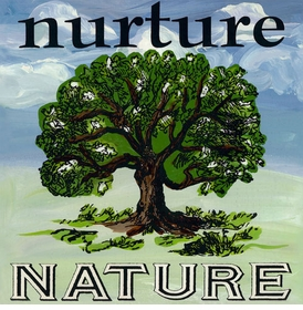 wall art - nurture nature
