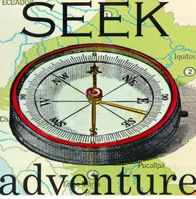 wall art - seek adventure