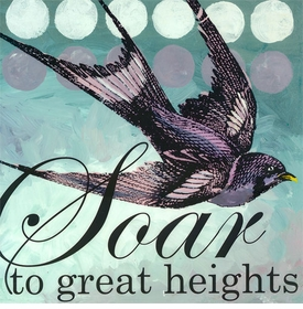 wall art - soar to great heights
