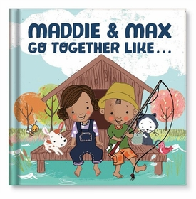 we go together personalized book