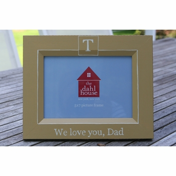 we love you dad personalized frame