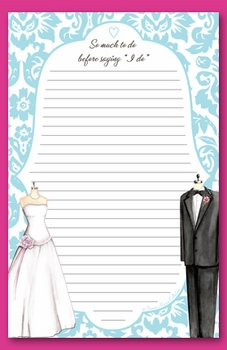 wedding couple note pad - SOLD OUT