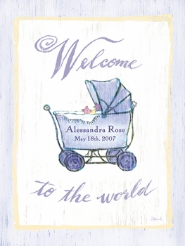 welcome buggy vintage sign