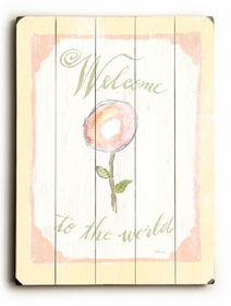 welcome of the word vintage sign