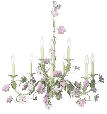 White chandelier shade - White chandelier with shades ...