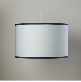 white cylinder cight with cobalt trim