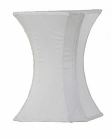 white medium hourglass shade