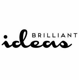 white on bright brilliant ideas note pad