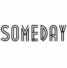 white on bright someday note pad