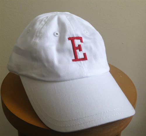 White Personalized Baby Baseball Cap Featured At Babybox Com