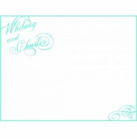 whitney & charles thank you notes