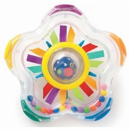 whoozit shooting star rattle by manhattan toy