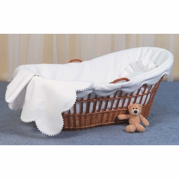 willow moses basket by blauen
