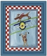 wing walker wall art - blue frame - SOLD OUT