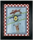 wing walker wall art - red frame - SOLD OUT