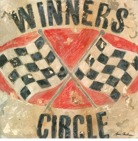 winners circle wall art canvas reproduction - unavailable