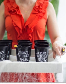 witches brew party cups - D37
