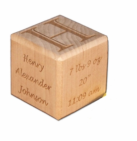 wooden birth block