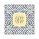 wrought iron gray square paper coaster<br>set of 50