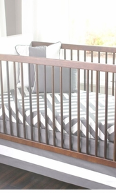 zara crib bedding set