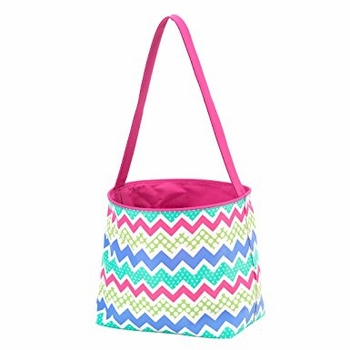Ziggy Chevron Easter Bucket Basket