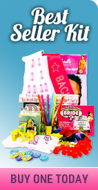 The Best Selling bachelorette party items in one kit