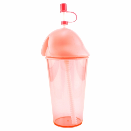 Pink Penis Cup - Holds Her Drink in Style