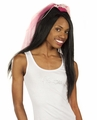 Bride Tank Top - White with Gemstones