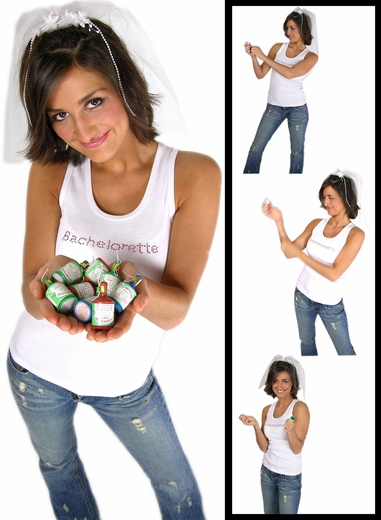 Champagne Bottle Poppers - 12