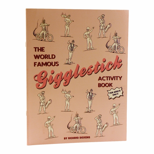 Gigglestick Activity Book