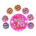 Hen Night Badge Set