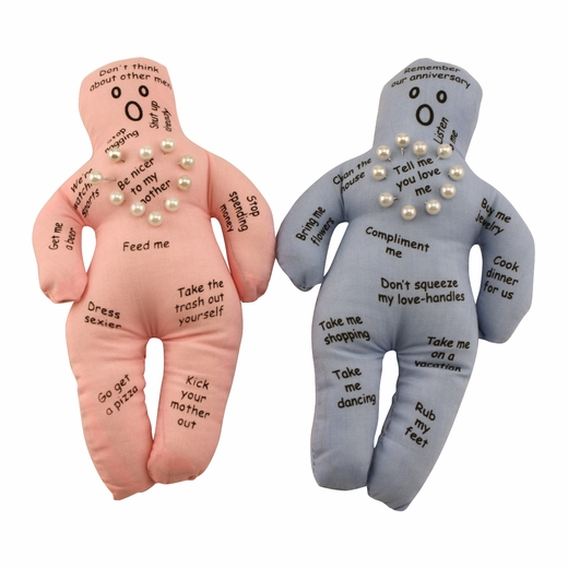 New husband and wife voodoo doll set Unique christmas gifts for couples who have everything