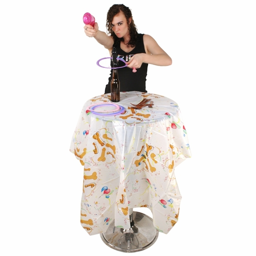 Pecker Party Tablecloth