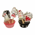 Bridal Cupcake Wrappers and Toppers - 24