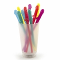 Penis Party Straws - Rainbow - 10 Straws