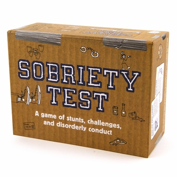 Sobriety Test - A Game of Stunts and Disorderly Conduct